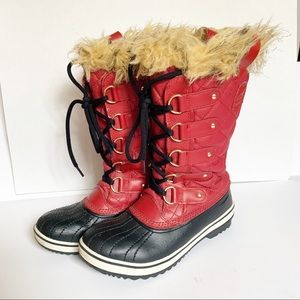 Sorel | Tofino CVS Red Waterproof Winter Boots 6